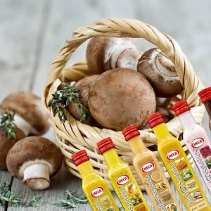 Kruiden, dressings & paddenstoelen